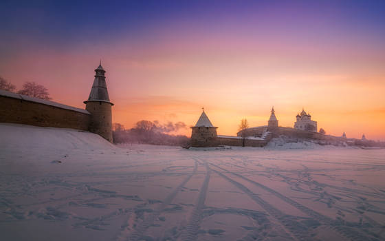 Color of Russian winter