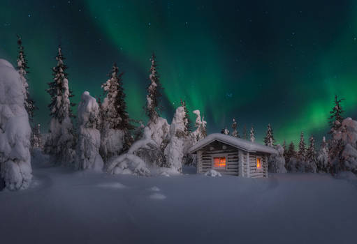 Somewhere in Lapland