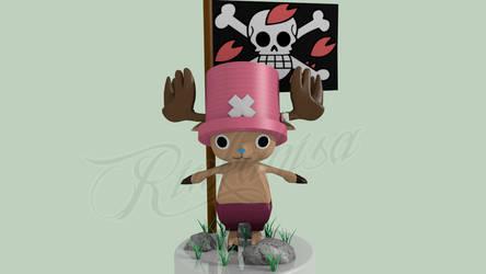 Chopper - One Piece by Rinkahisa-Arts