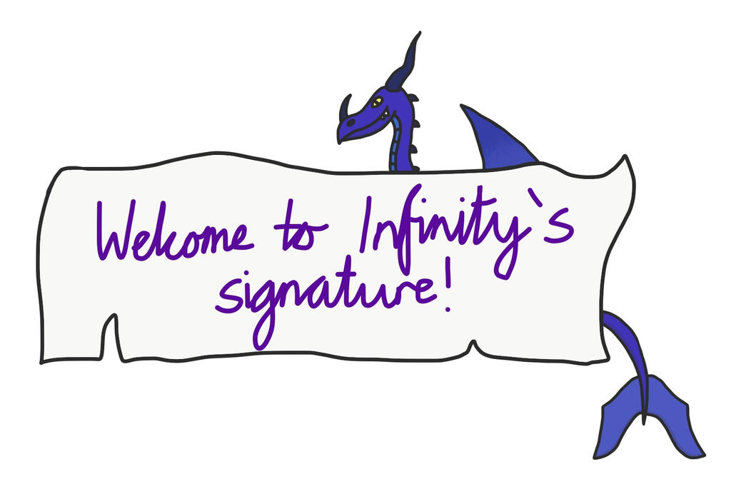 A request - Infinity's signature banner by VexyLu