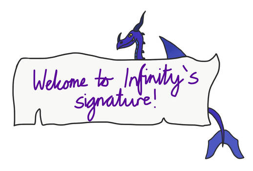 A request - Infinity's signature banner