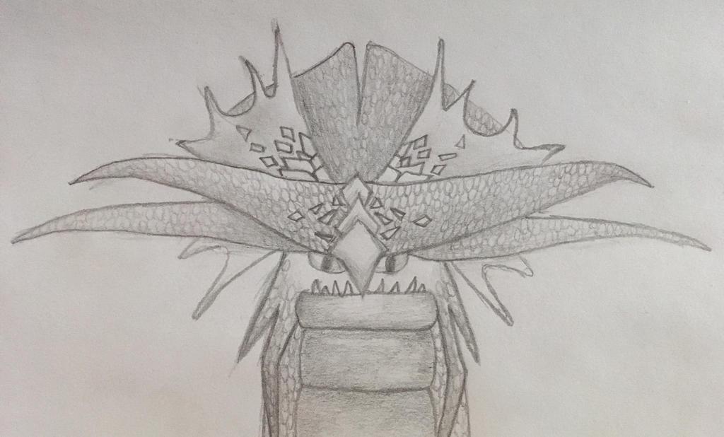 A request - Skydancer - titan stormcutter drawing by VexyLu
