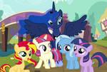 Princess Luna Pupils