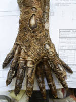 finished zombie silcone gloves by barbelith2000ad