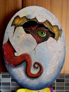 dragon hatching