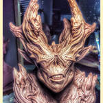 Finished demon sculpt