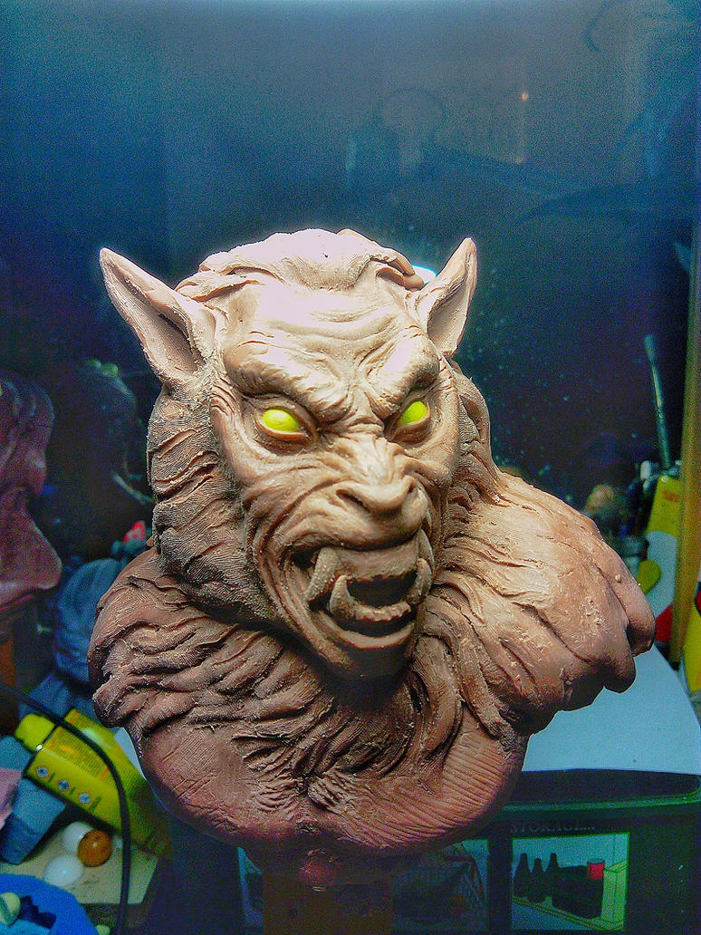 snarling werewolf by barbelith2000ad