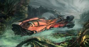 Swamp Speeder