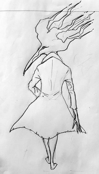 the white crow by aktnxj