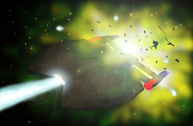 U.S.S Excalibur by agkeycreative