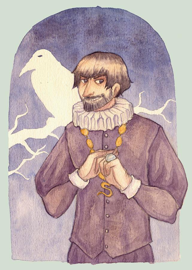 Second-class wizard by Dryas-juas
