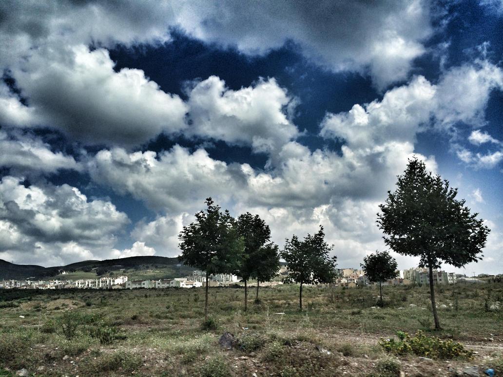 clouds by ayjuuu