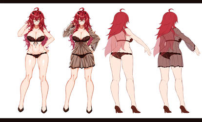 Commission - Not Rias XD by Essagna