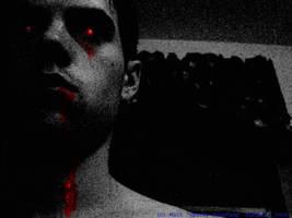 Webcam Boredom by SparkyBluefang