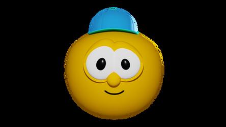 Joe The Yellow Tomato Render