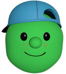 French Pea Kid Render