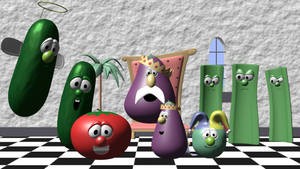 Bob and Larry narrates The Princess and The Pea