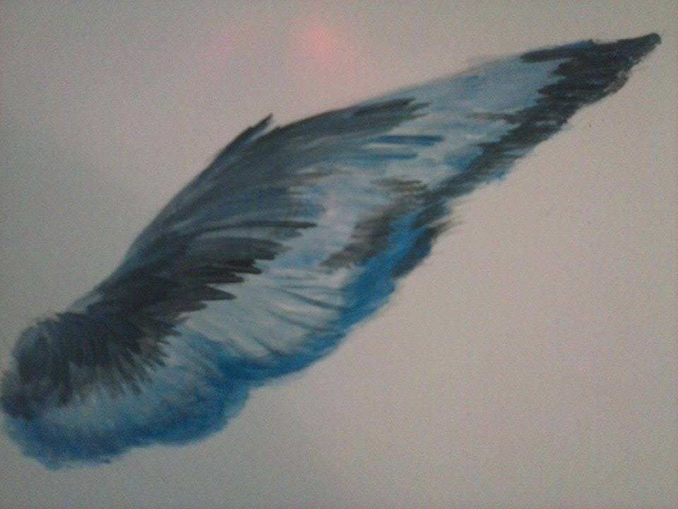 Lone Wolf Poems Blue Feathers by Lone Wolf