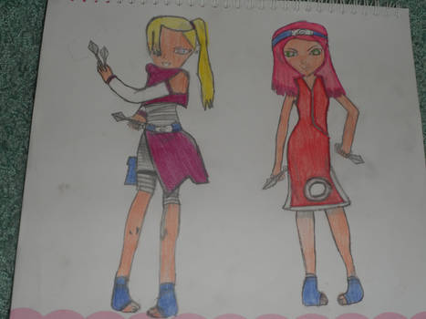 Ino and Sakura
