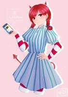 Salty Wendy's by adelhi