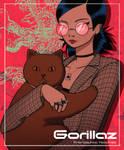 Gorillaz Cover Magazine (Noodle)