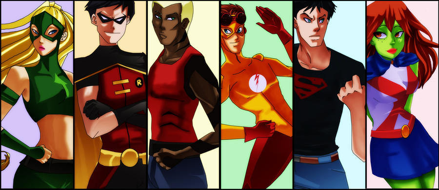 Young Justice by Ceshira