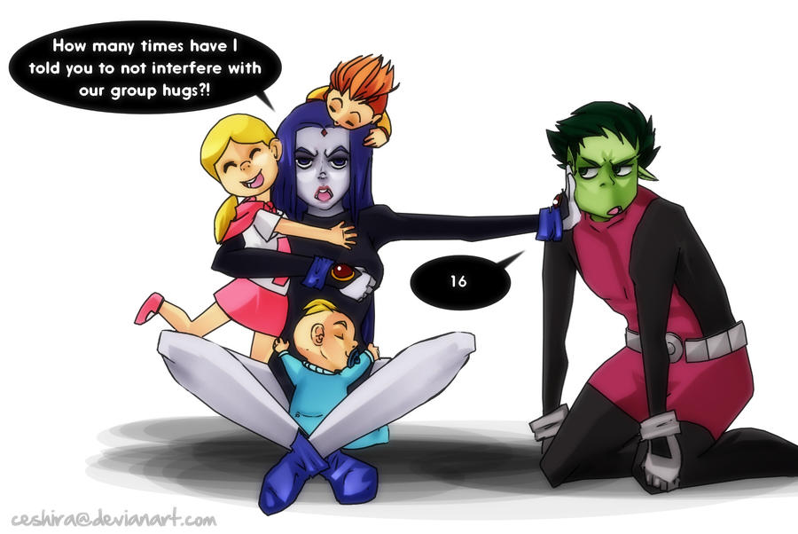 Beast Boy And Raven Have A Baby | 900 x 602 jpeg 76kB