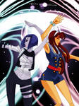Raven and Starfire -DC