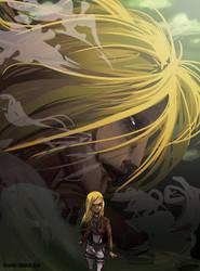 ATTACK ON TEEN TITANS (spoiler alert) by Ceshira