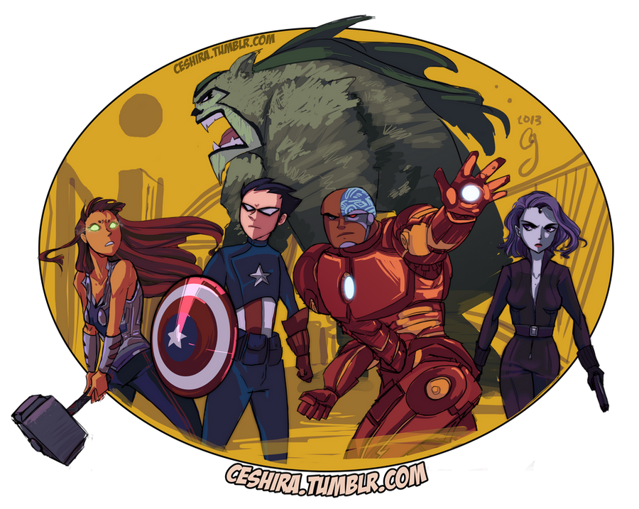 TITANS ASEMBLE! by Ceshira