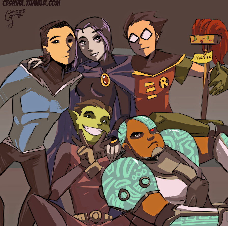 Titan Twitter Redraw 1 by Ceshira