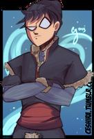 Frozen Titans- Robin by Ceshira
