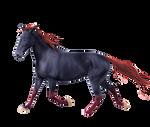 Custom Horse Pre-Cut #1 - Buckaroo-Stock