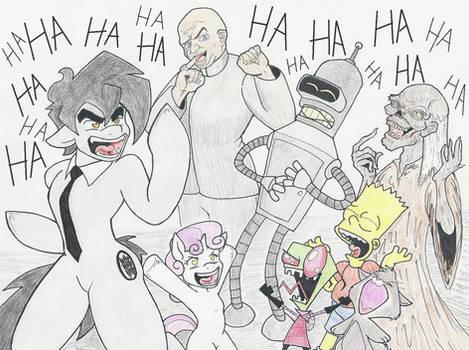 Muahahaha! Evil...