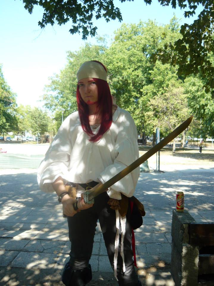My pirate costume by TsukiokaShinji