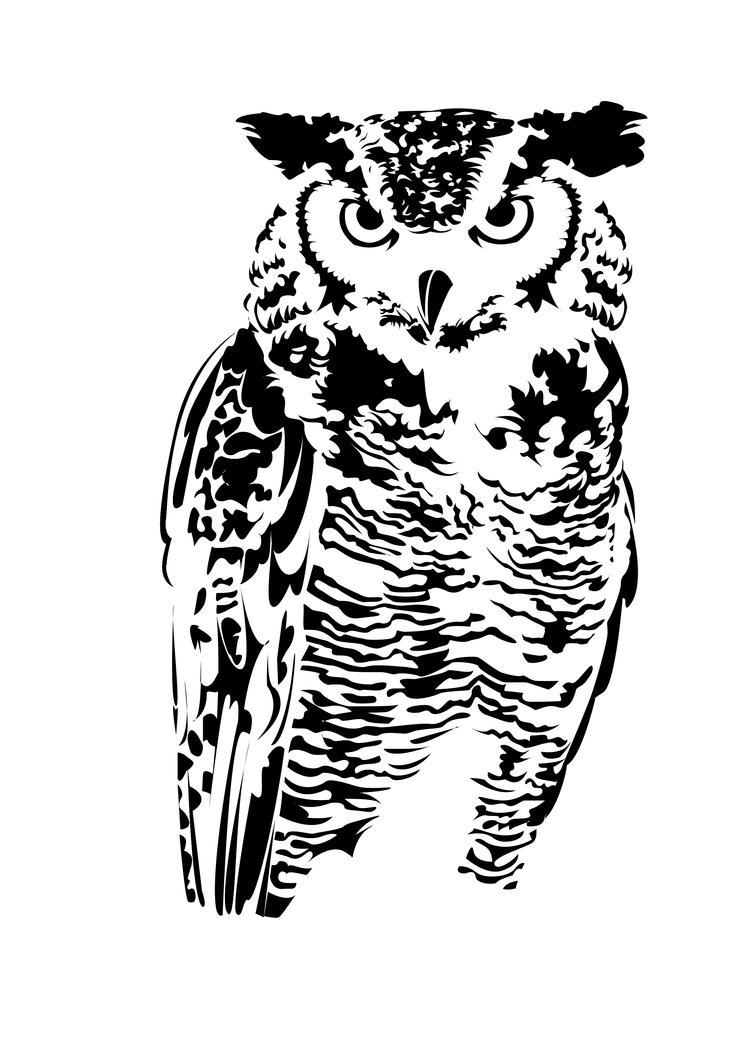 Owl Style 1 by Therealjazzbertie