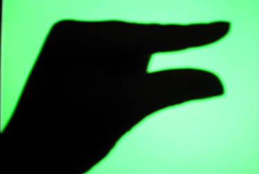 Hand Silhouette 15 by Demon-Daisy-Stock