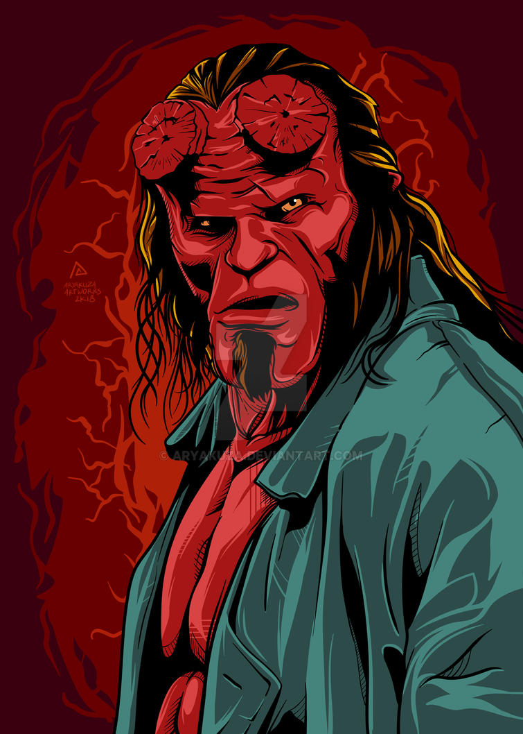 Hellboy by aryakuza