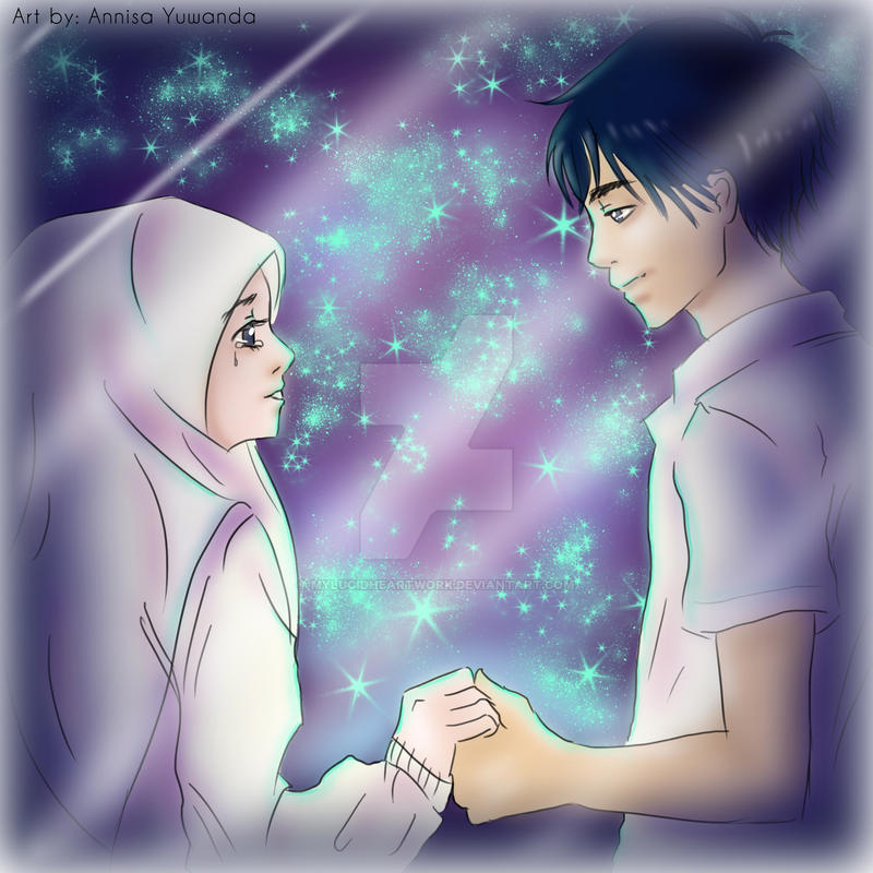 Muslimah Married Couple Hijab By Mylucidheartwork