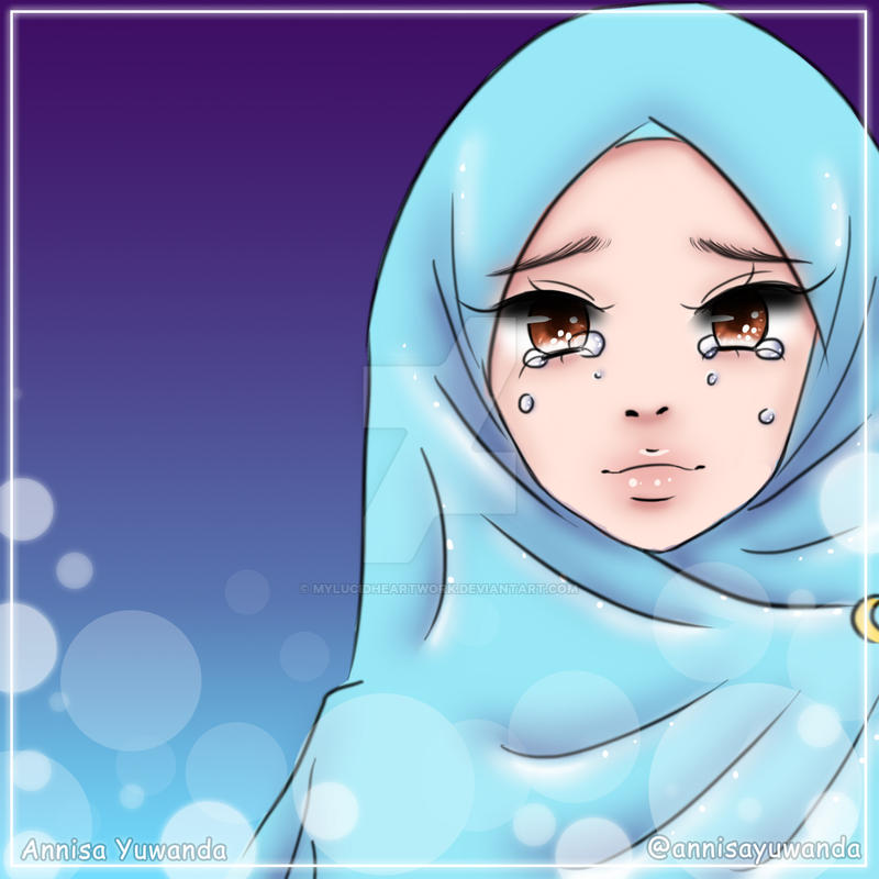 Beautiful Muslimah Hijab Girl 31 By Mylucidheartwork