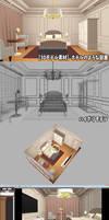 3D model : Hotel-Like Room