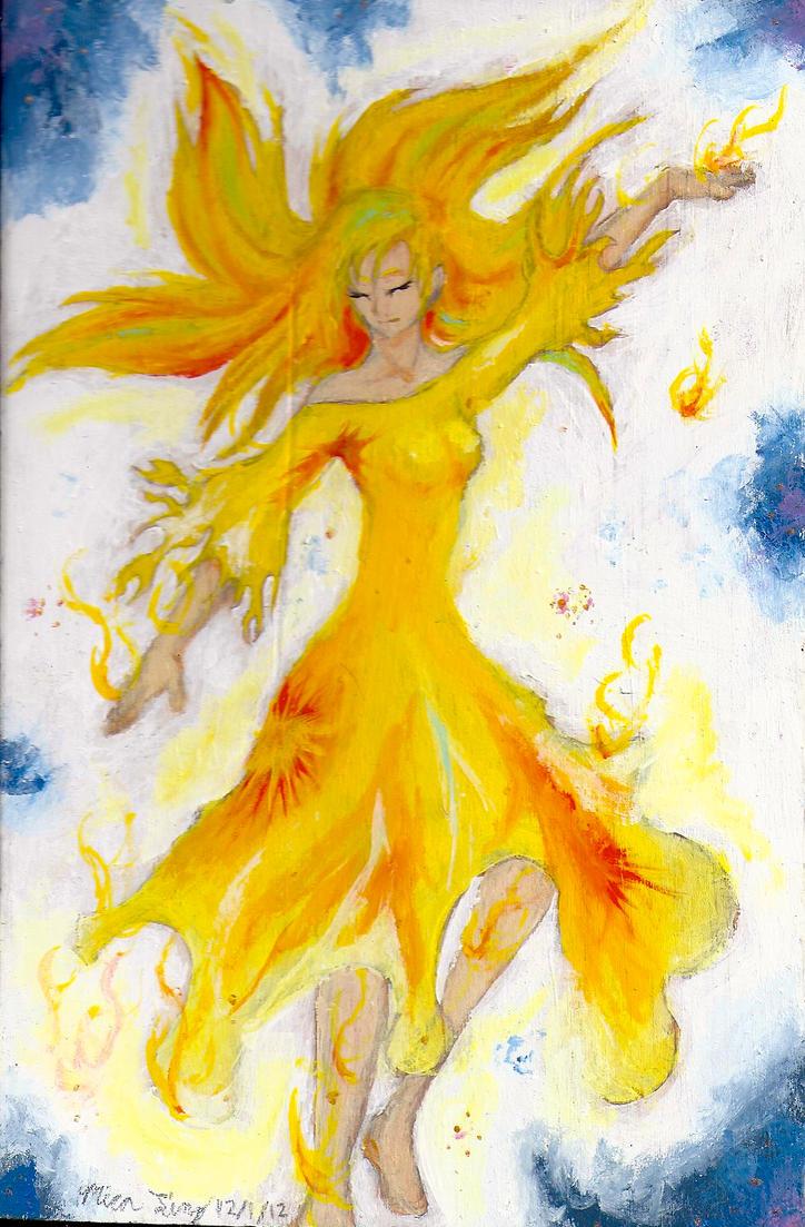 Firebird's Child by BirdMan-Hwah
