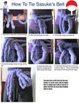 How To Tie Sasuke's Belt Tutorial