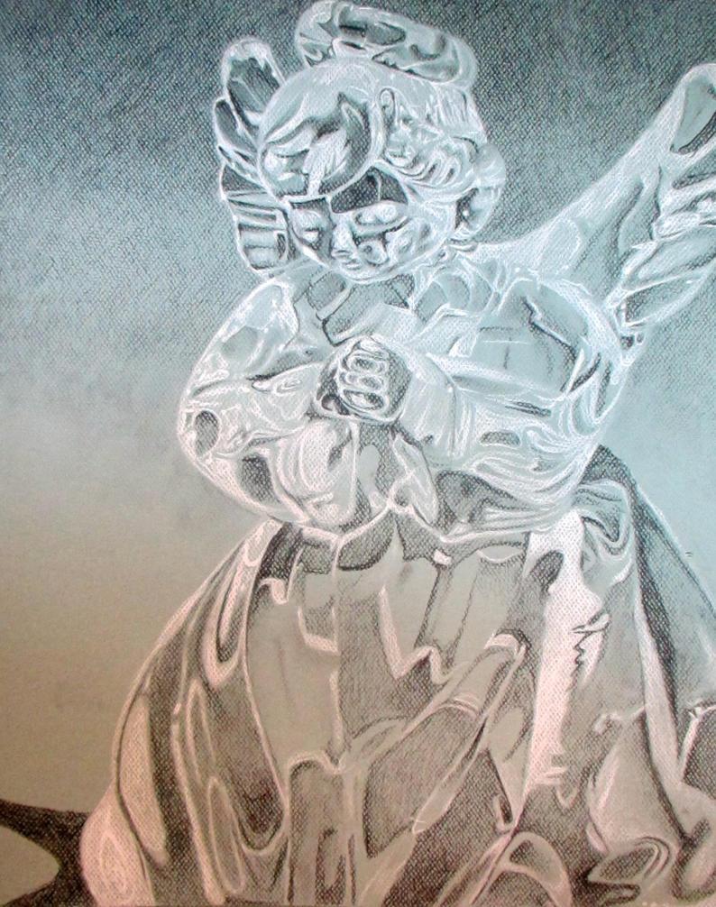 Glass Angel by BirdMan-Hwah