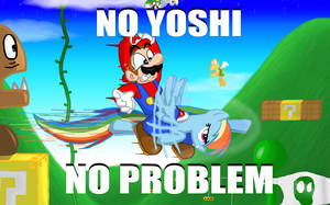 No Yoshi? No Problem. by s216Barber