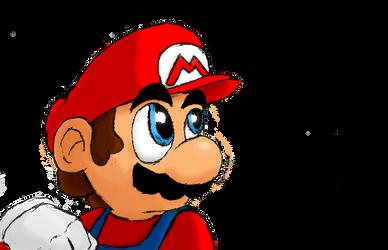 Mario-Sketch1 by s216Barber
