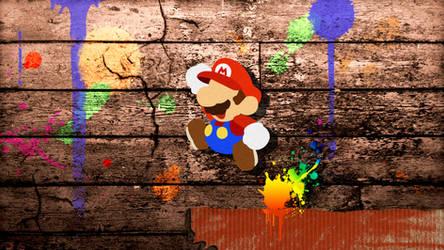 Paper Mario Vector Wallpaper by s216Barber