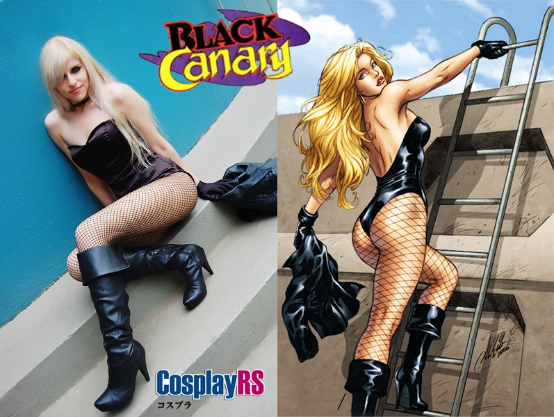 Black Canary Cosplay by cottoncandy-pink on DeviantArt