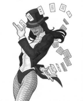 Zatanna: Flying Cards