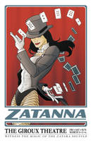 Zatanna: Magic Poster by jtchan